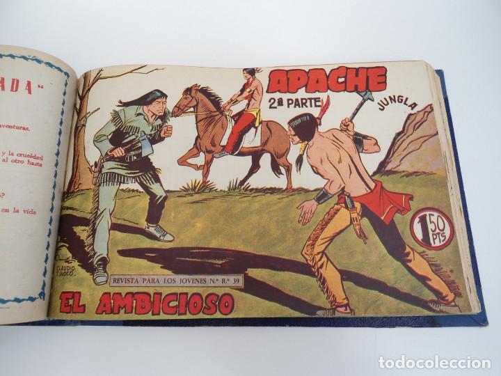 Tebeos: APACHE 2ª PARTE - 73 números correlativos ORIGINALES - Ed. MAGA 1958 - Foto 51 - 72137395