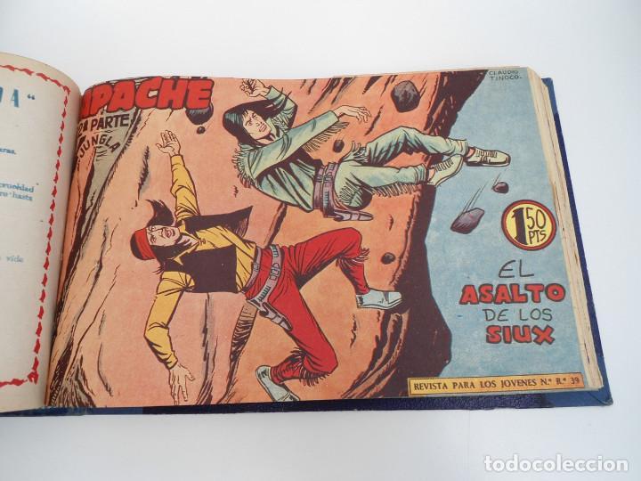 Tebeos: APACHE 2ª PARTE - 73 números correlativos ORIGINALES - Ed. MAGA 1958 - Foto 52 - 72137395