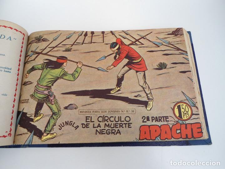 Tebeos: APACHE 2ª PARTE - 73 números correlativos ORIGINALES - Ed. MAGA 1958 - Foto 53 - 72137395