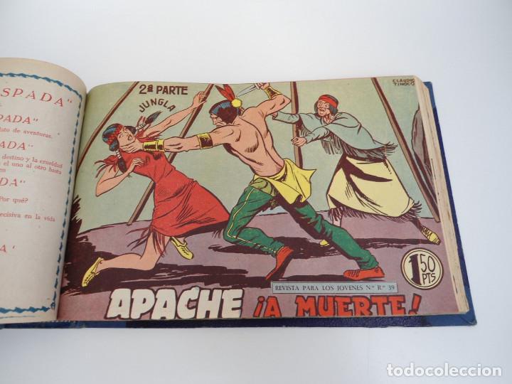 Tebeos: APACHE 2ª PARTE - 73 números correlativos ORIGINALES - Ed. MAGA 1958 - Foto 54 - 72137395