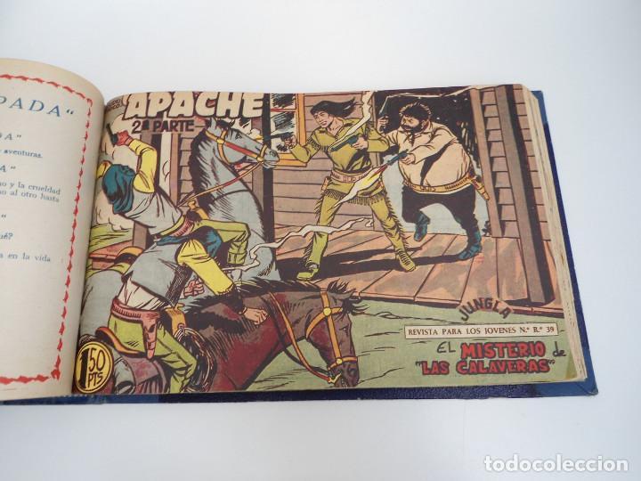 Tebeos: APACHE 2ª PARTE - 73 números correlativos ORIGINALES - Ed. MAGA 1958 - Foto 56 - 72137395
