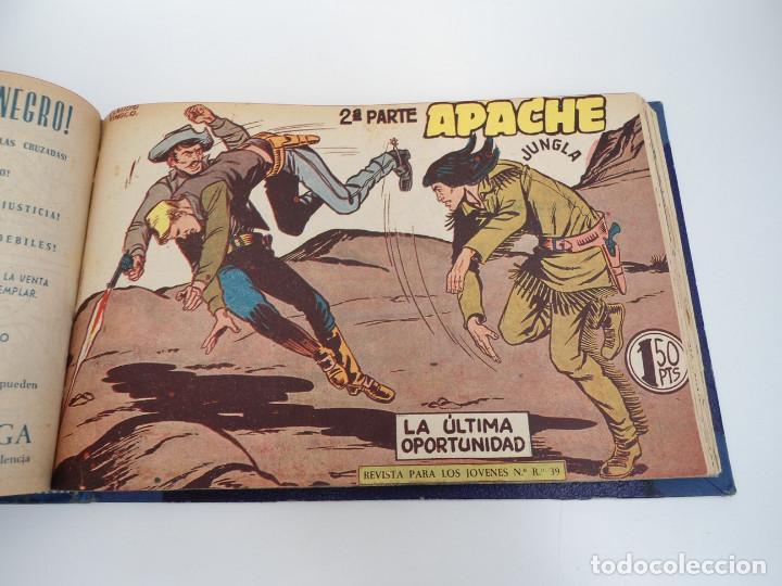 Tebeos: APACHE 2ª PARTE - 73 números correlativos ORIGINALES - Ed. MAGA 1958 - Foto 57 - 72137395