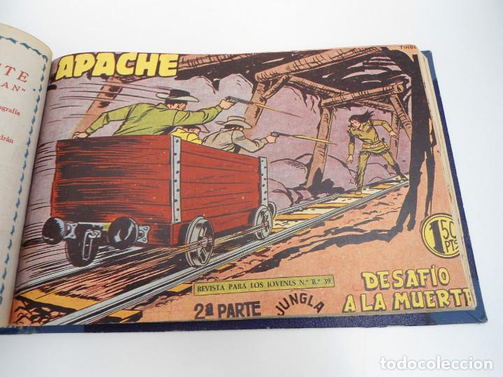Tebeos: APACHE 2ª PARTE - 73 números correlativos ORIGINALES - Ed. MAGA 1958 - Foto 63 - 72137395