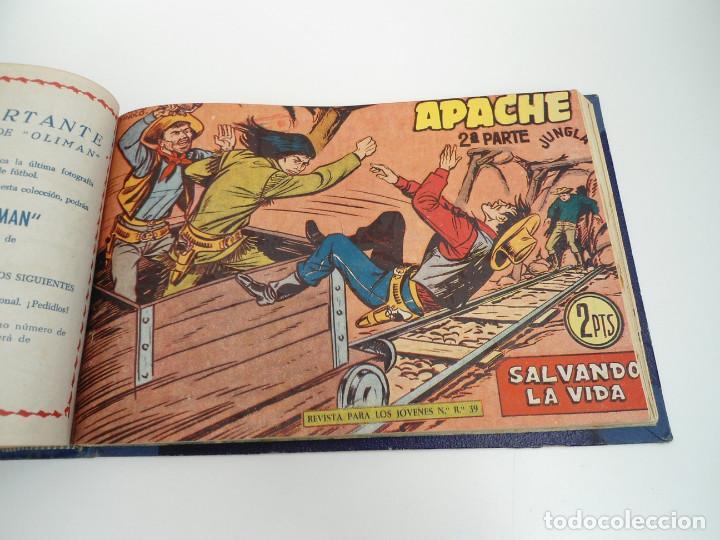 Tebeos: APACHE 2ª PARTE - 73 números correlativos ORIGINALES - Ed. MAGA 1958 - Foto 64 - 72137395