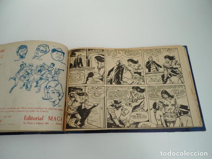 Tebeos: APACHE 2ª PARTE - 73 números correlativos ORIGINALES - Ed. MAGA 1958 - Foto 65 - 72137395