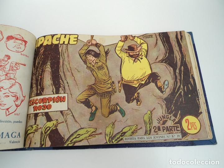 Tebeos: APACHE 2ª PARTE - 73 números correlativos ORIGINALES - Ed. MAGA 1958 - Foto 66 - 72137395