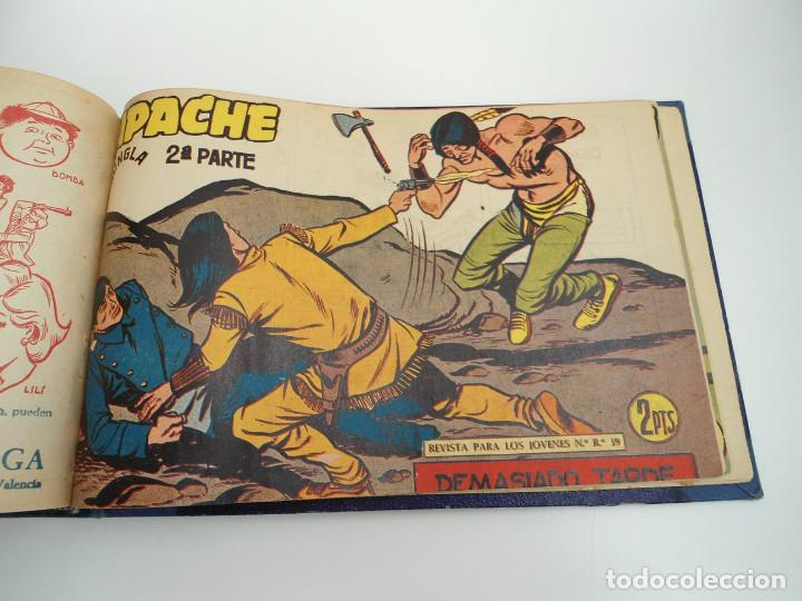 Tebeos: APACHE 2ª PARTE - 73 números correlativos ORIGINALES - Ed. MAGA 1958 - Foto 71 - 72137395