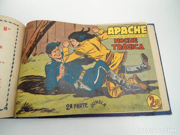 Tebeos: APACHE 2ª PARTE - 73 números correlativos ORIGINALES - Ed. MAGA 1958 - Foto 72 - 72137395