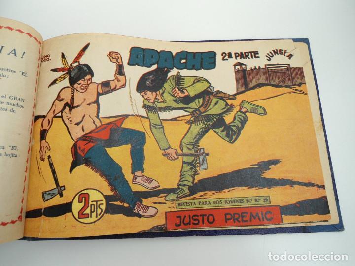 Tebeos: APACHE 2ª PARTE - 73 números correlativos ORIGINALES - Ed. MAGA 1958 - Foto 73 - 72137395