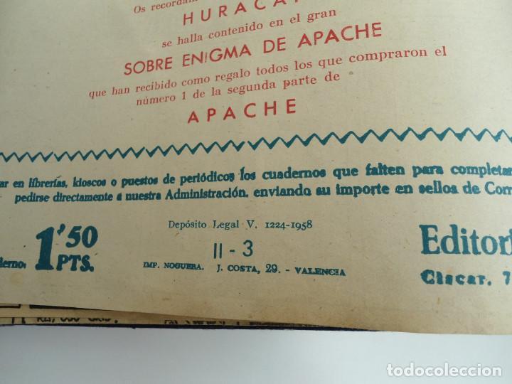 Tebeos: APACHE 2ª PARTE - 73 números correlativos ORIGINALES - Ed. MAGA 1958 - Foto 78 - 72137395