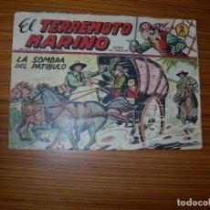 Tebeos: EL TERREMOTO MARINO Nº 3. Lote 72147503