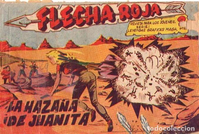 FLECHA ROJA (MAGA) Nº 29 (Tebeos y Comics - Maga - Flecha Roja)