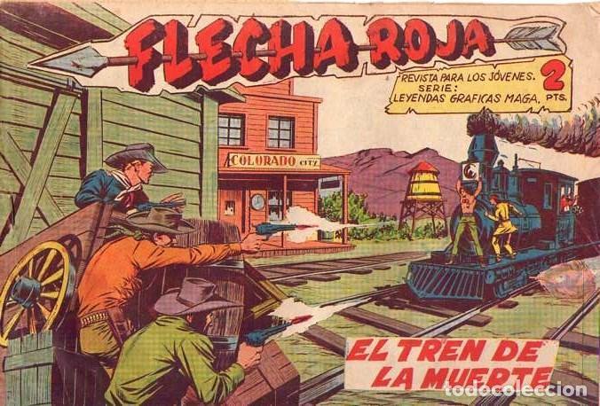 FLECHA ROJA (MAGA) Nº 31 (Tebeos y Comics - Maga - Flecha Roja)