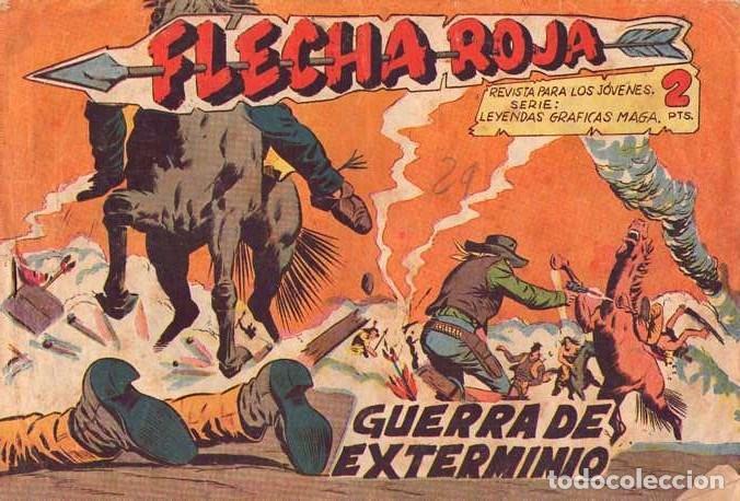 FLECHA ROJA (MAGA) Nº 32 (Tebeos y Comics - Maga - Flecha Roja)