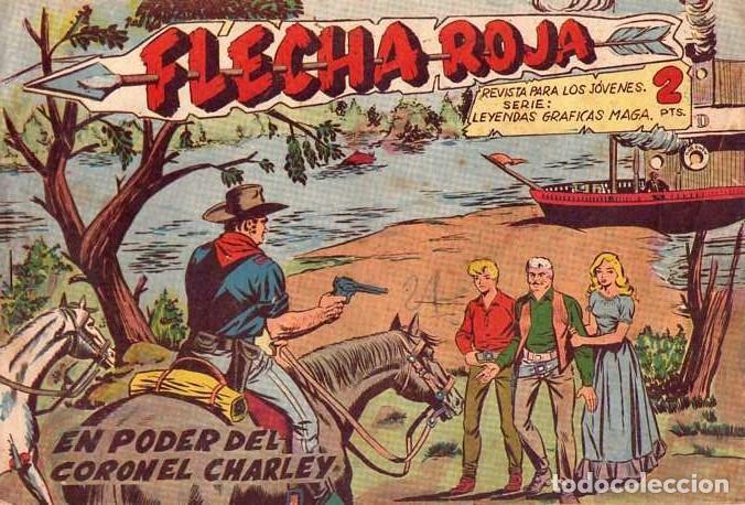 FLECHA ROJA (MAGA) Nº 35 (Tebeos y Comics - Maga - Flecha Roja)