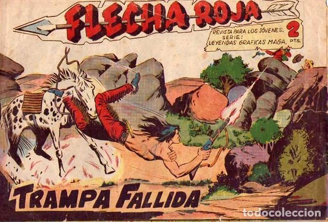 FLECHA ROJA (MAGA) Nº 36 (Tebeos y Comics - Maga - Flecha Roja)