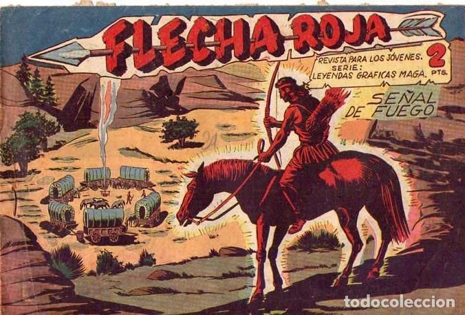 FLECHA ROJA (MAGA) Nº 39 (Tebeos y Comics - Maga - Flecha Roja)