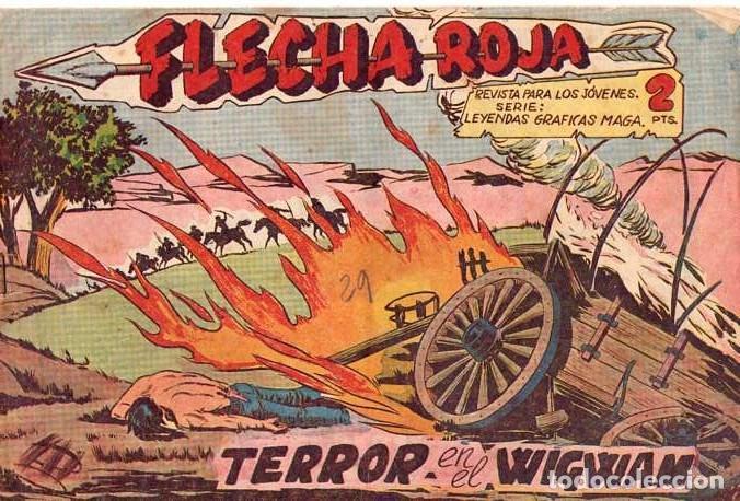 FLECHA ROJA (MAGA) Nº 40 (Tebeos y Comics - Maga - Flecha Roja)
