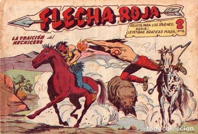 FLECHA ROJA (MAGA) Nº 41 (Tebeos y Comics - Maga - Flecha Roja)