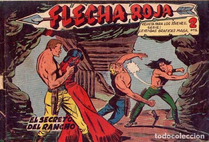 FLECHA ROJA (MAGA) Nº 42 (Tebeos y Comics - Maga - Flecha Roja)