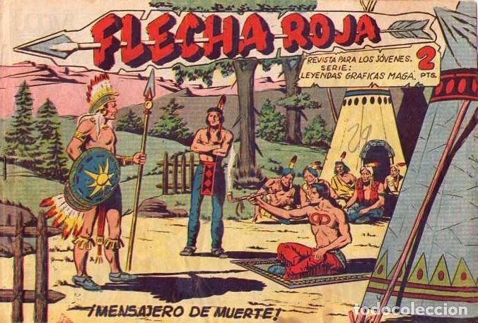 FLECHA ROJA (MAGA) Nº 44 (Tebeos y Comics - Maga - Flecha Roja)