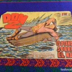Giornalini: DON Z Nº 84. MAGA 1950. 1,20 PTS. FLOTANDO SOBRE EL MAR.. Lote 72766827