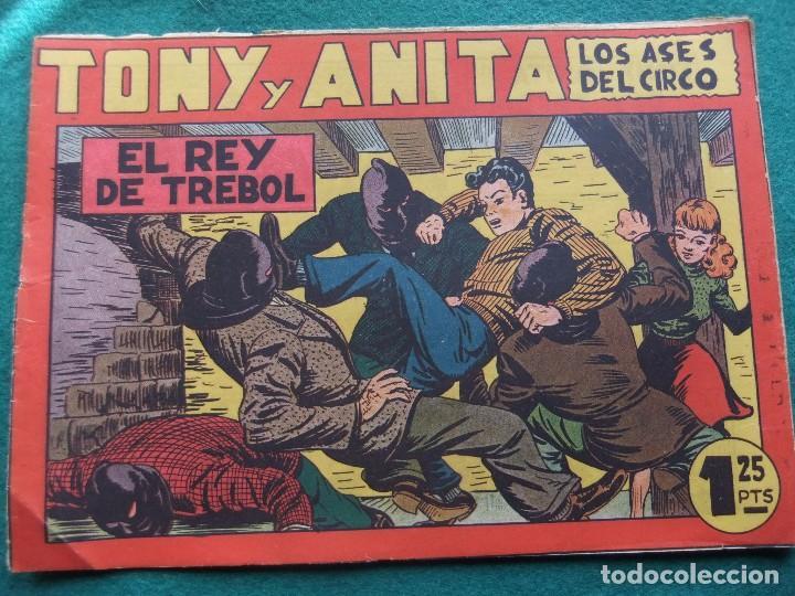 TONY Y ANITA Nº 6 EDITORIAL MAGA 1953 (Tebeos y Comics - Maga - Tony y Anita)