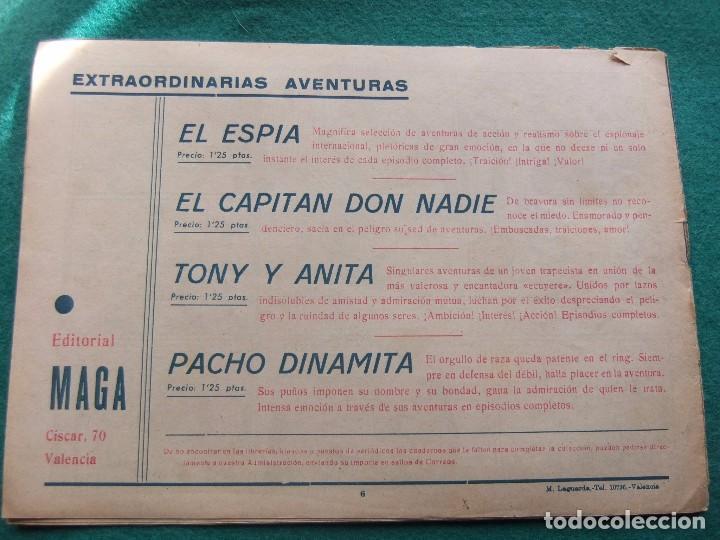 Tebeos: TONY Y ANITA Nº 6 EDITORIAL MAGA 1953 - Foto 2 - 73750519