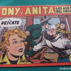 Tebeos: TONY Y ANITA Nº 8 EDITORIAL MAGA 1953. Lote 73750743