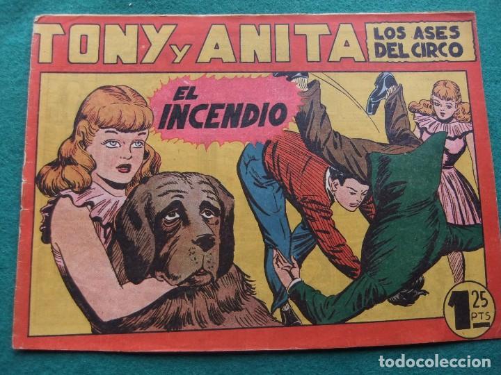TONY Y ANITA Nº 9 EDITORIAL MAGA 1953 (Tebeos y Comics - Maga - Tony y Anita)