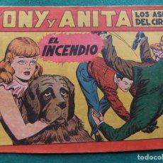Tebeos: TONY Y ANITA Nº 9 EDITORIAL MAGA 1953. Lote 73751083