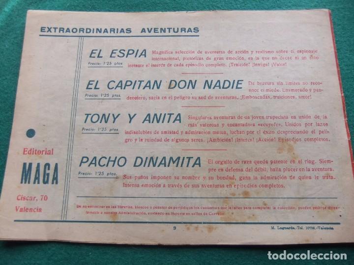 Tebeos: TONY Y ANITA Nº 9 EDITORIAL MAGA 1953 - Foto 2 - 73751083