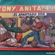 Tebeos: TONY Y ANITA Nº 10 EDITORIAL MAGA 1953. Lote 73751211