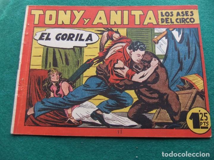 TONY Y ANITA Nº 11 EDITORIAL MAGA 1953 (Tebeos y Comics - Maga - Tony y Anita)