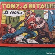 Tebeos: TONY Y ANITA Nº 11 EDITORIAL MAGA 1953. Lote 73752263