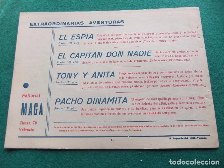 Tebeos: TONY Y ANITA Nº 11 EDITORIAL MAGA 1953 - Foto 2 - 73752263
