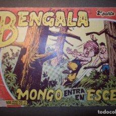 Tebeos: TEBEO - COMIC - BENGALA - MONGO ENTRA EN ESCENA - Nº 39 - 2ª PARTE - MAGA . Lote 74362883