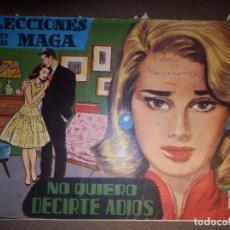 Tebeos: TEBEO - COMIC - SELECCIONES MAGA - NO QUIERO DECIRTE ADIOS - MAGA. Lote 74363439