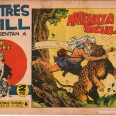Tebeos: SAHIB TIGRE - Nº 26 - AMENAZA SALVAJE - EDITORIAL MAGA - ORIGINAL DE 1964. Lote 74404439