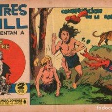 Tebeos: SAHIB TIGRE - Nº 29 - CONSPIRACIÓN EN LA SOMBRA - EDITORIAL MAGA - ORIGINAL DE 1964. Lote 74404727