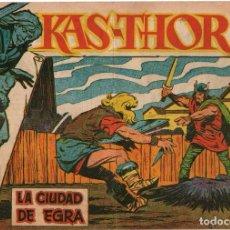 Tebeos: KAS-THOR EL VIKINGO - Nº 26 - LA CIUDAD DE EGRA - EDITORIAL MAGA - ORIGINAL DE 1963. Lote 74406855