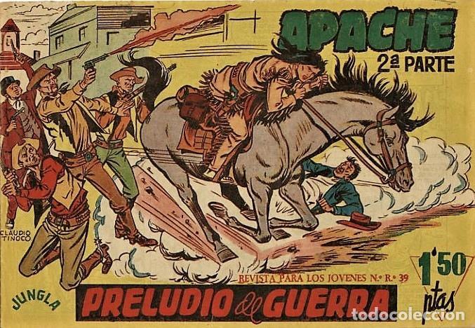 NUMEROS 1. APACHE SEGUNDA SERIE (MAGA) (Tebeos y Comics - Maga - Apache)