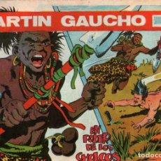 Tebeos: MARTÍN GAUCHO - Nº 17 - EN PODER DE LOS CHOLCOS - EDITORIAL MAGA - ORIGINAL DE 1964. Lote 74557655