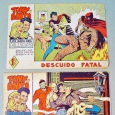 Tebeos: TONY Y ANITA. LOS ASES DEL CIRCO. EL MISTERIOSO SEÑOR WONG Y DESCUIDO FATAL. . Lote 74562475