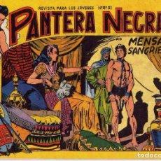 Tebeos: PANTERA NEGRA, AÑO 1.964. COLECCIÓN COMPLETA DE 54. TEBEOS ORIGINALES. EDITORIAL MAGA.. Lote 74759563