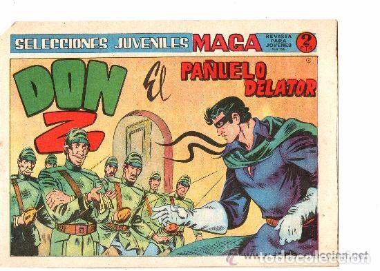 Tebeos: Don Z, 2ª Serie, Año 1.964. Colección Completa de 7. Tebeos Originales. Editorial Maga. - Foto 2 - 75172703