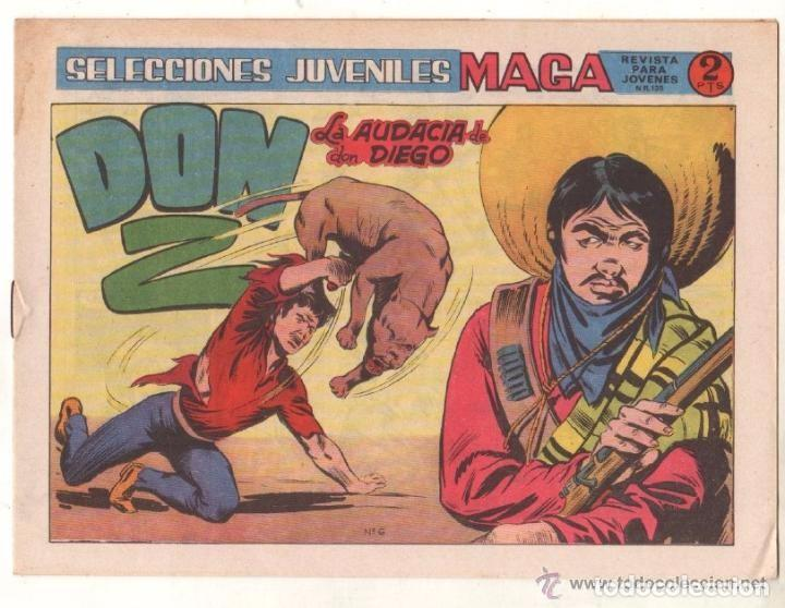 Tebeos: Don Z, 2ª Serie, Año 1.964. Colección Completa de 7. Tebeos Originales. Editorial Maga. - Foto 4 - 75172703