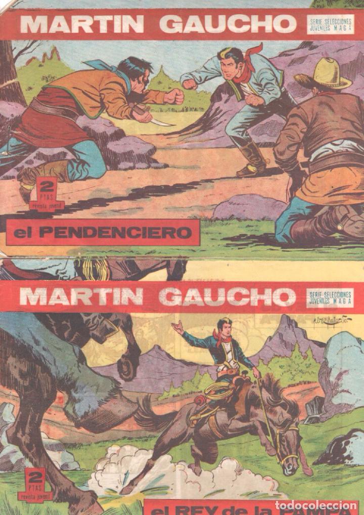 MARTIN GAUCHO ORIGINALES 1964 - LOTE 12 NºS - 1,2,3,4,7,9,12,14,15,30,42,44 (Tebeos y Comics - Maga - Otros)
