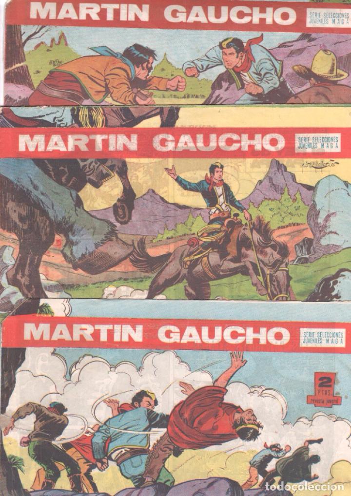 Tebeos: MARTIN GAUCHO ORIGINALES 1964 - LOTE 12 NºS - 1,2,3,4,7,9,12,14,15,30,42,44 - Foto 2 - 75550415