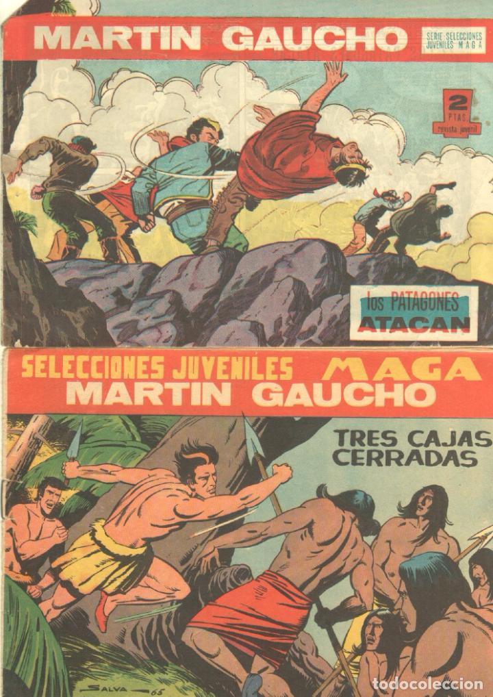 Tebeos: MARTIN GAUCHO ORIGINALES 1964 - LOTE 12 NºS - 1,2,3,4,7,9,12,14,15,30,42,44 - Foto 3 - 75550415